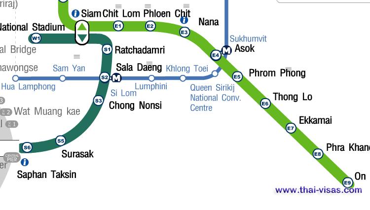 BTS Phloen Chit Station