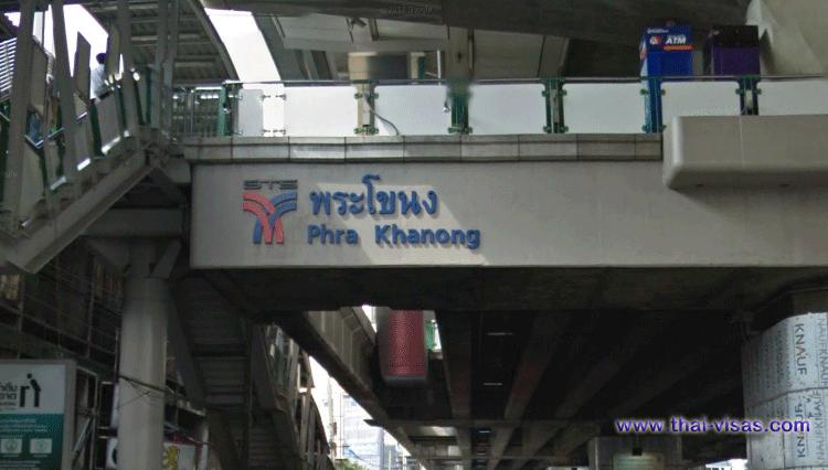 BTS Phra Khanong Station