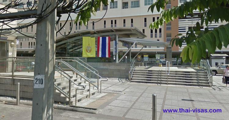 MRT Huai Khwang Station