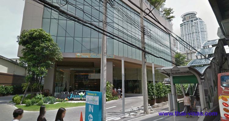 Jasmine Hotel in Bangkok Thailand