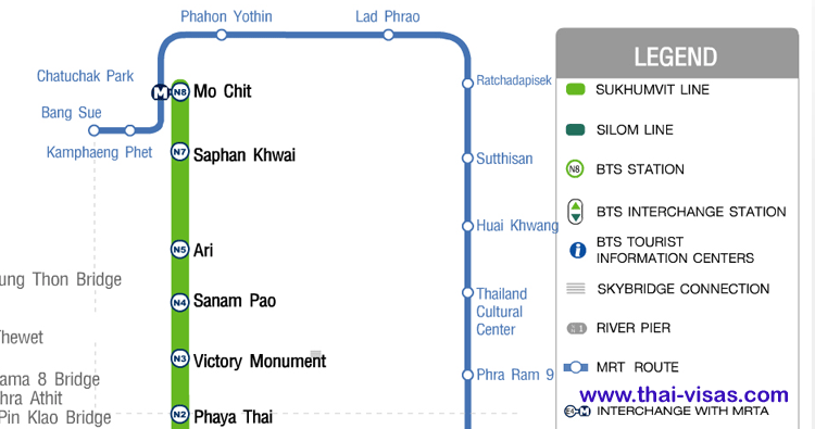 MRT Station Map