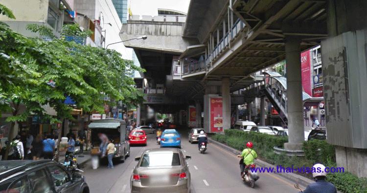 BTS Sala Daeng Station