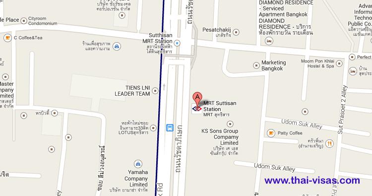 MRT Sutthisan Station