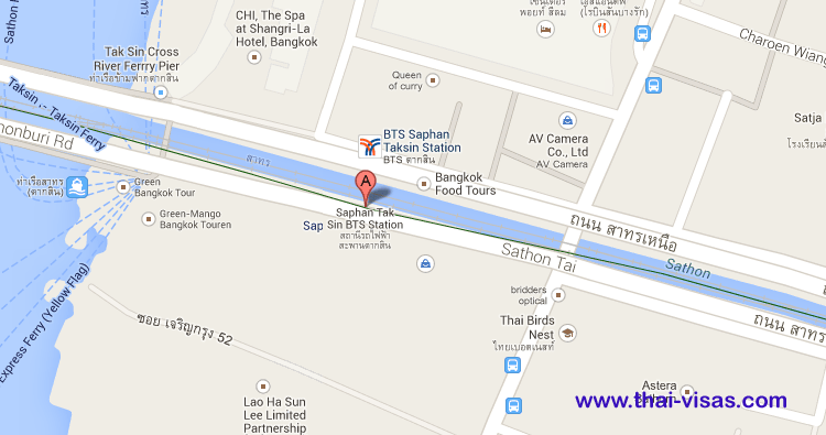 BTS Saphan Taksin Station