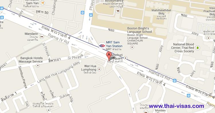 MRT Sam Yan Station