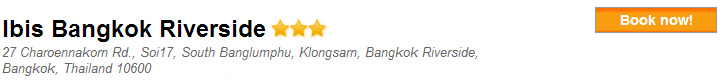 Ibis Bangkok Riverside Bangkok Hotel
