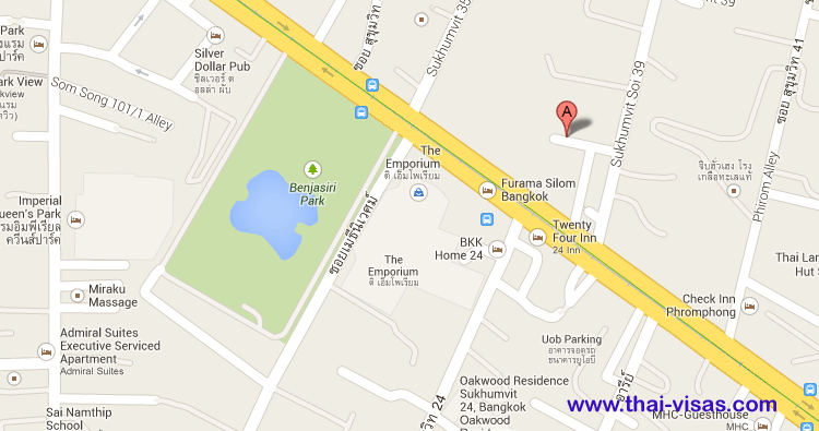 Nantra Sukhumvit 39 Hotel Map